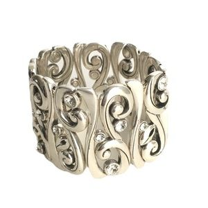 Brighton Concerto Stretch Bracelet Crystal Bangle
